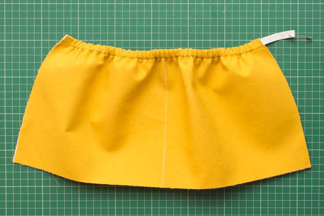 Elasticated pocket tutorial - step 5b