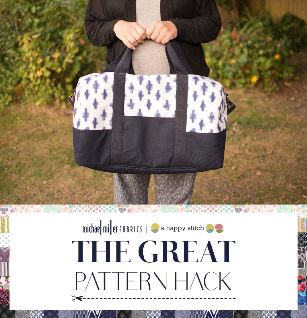 7bec6a27f9 The Great Pattern Hack - Portside Duffle Bag by Craftstorming