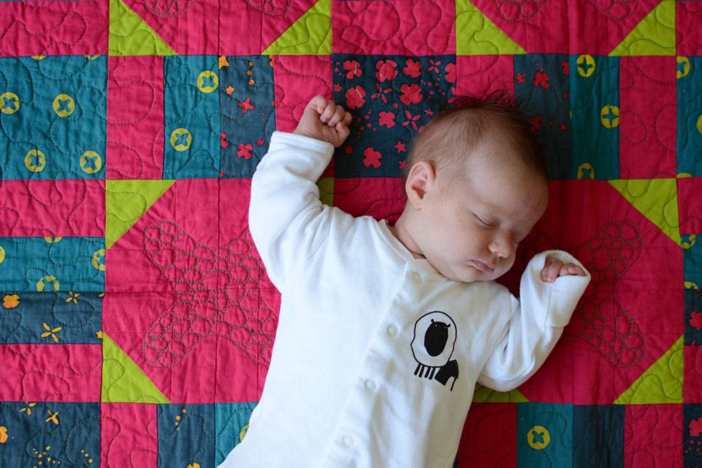 Quilt front by Abby of Things for Boys