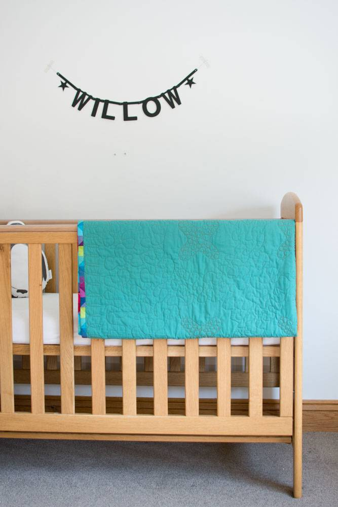 Willow's quilt by Abby from Things for Boys