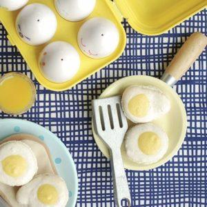 Fried egg macarons  my kind of breakfast! I madehellip