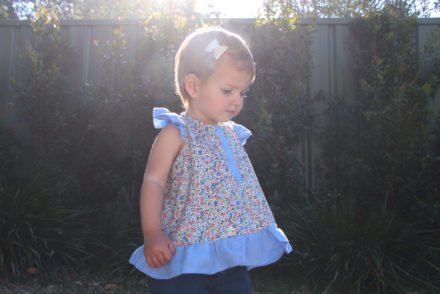 Rushbrook Top by Kristie