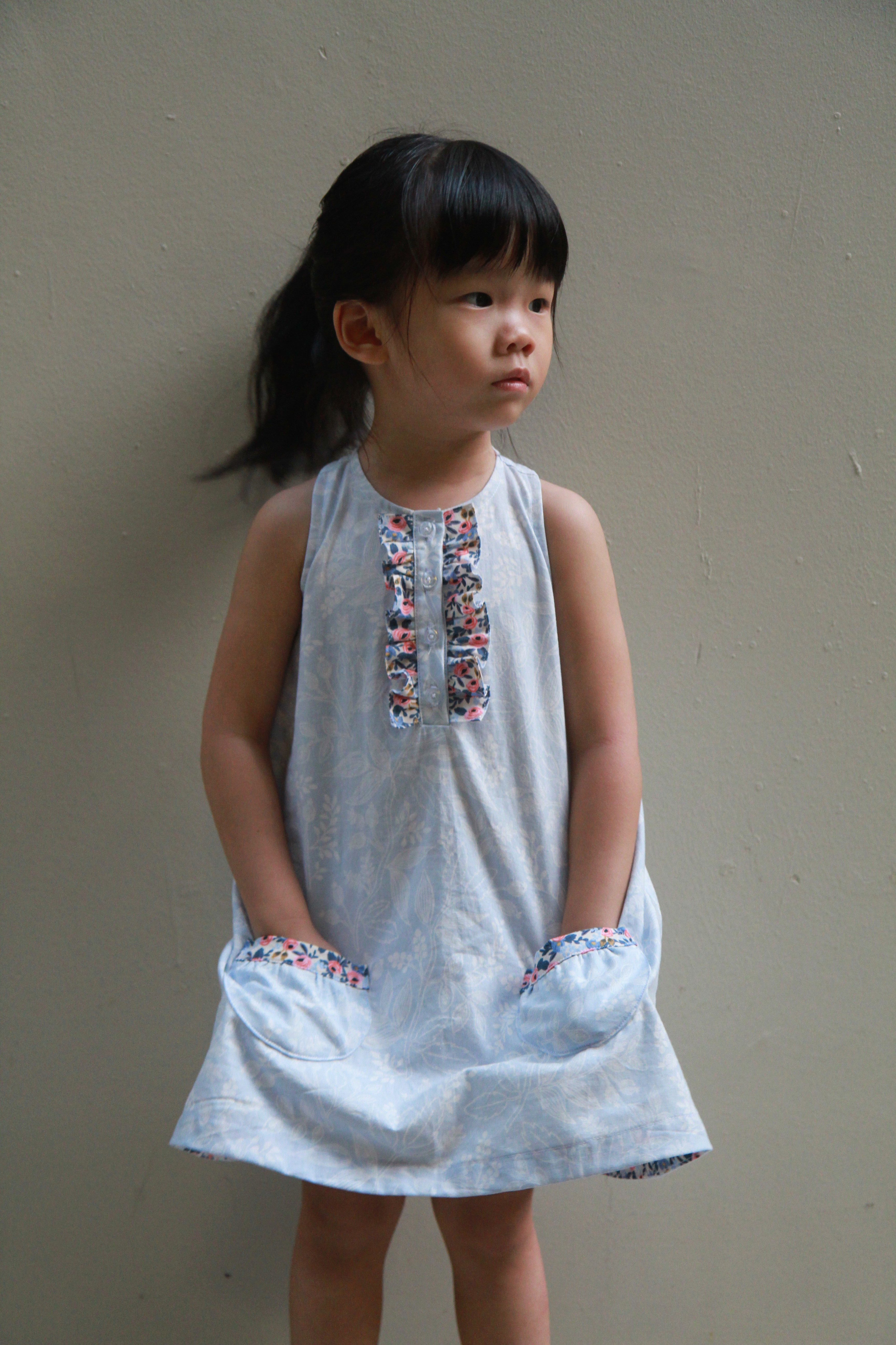 Rushbrook Dress by Spools + Oodles of Fun
