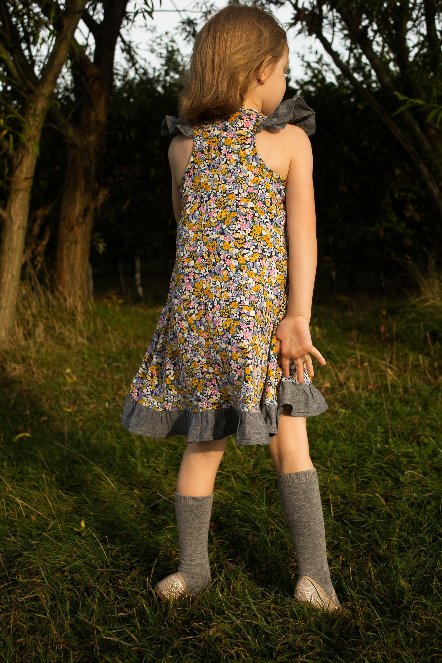 Floral Rushbrook Dress by my cozy co