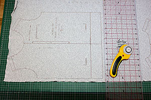 Tips for using pdf sewing patterns on a projector - thumbnail